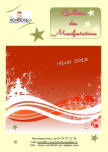 Bulletin des Manifestations Hiver 2013