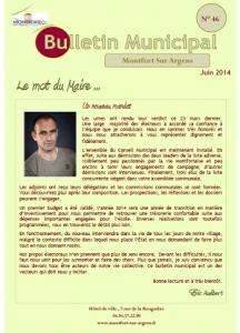 Bulletin des Manifestations juin 2014