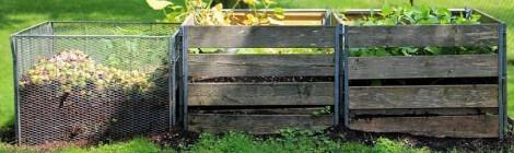 Fabriquez votre composteur et compostez dans votre jardin