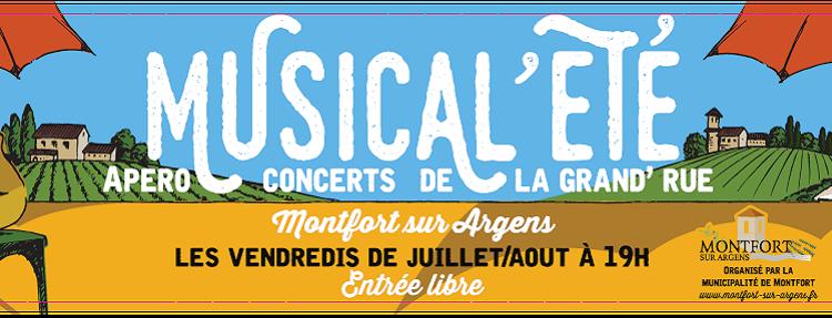 """""""Les musical 'été"""" 2016"""