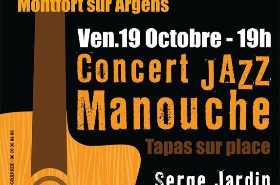 Concert de JAZZ MANOUCHE  SWING D'HIVER