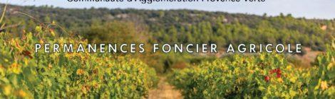 Permanences foncier agricole