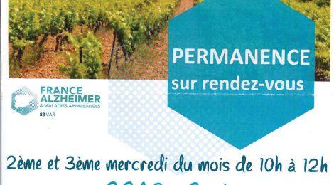 Permanences Alzheimer