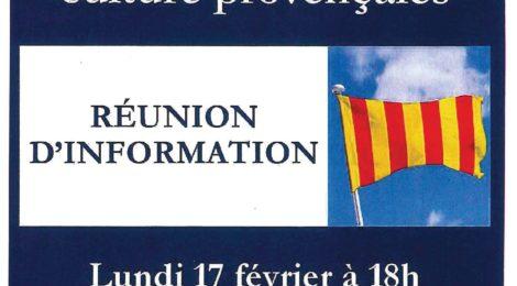 Atelier de langue et de culture provençales