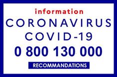 Coronavirus (Covid-19, SARS-CoV-2) : numéros utiles