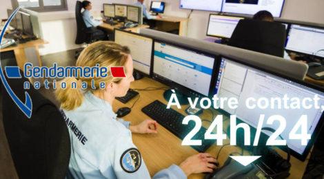 Pré-plainte en ligne et contact avec la gendarmerie
