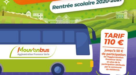 Transports scolaires pour la rentrée 2020-2021