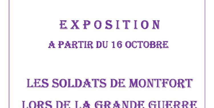 """Exposition """"LA GRANDE GUERRE"""" par les enfants de l'école primaire"""