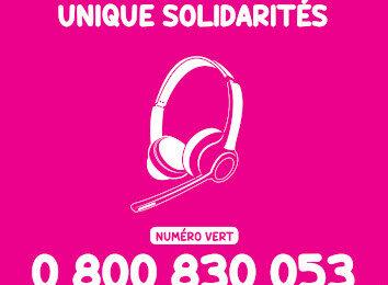 Un guichet téléphonique de solidarités