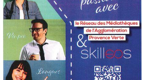 Apprenez ce qui vous passionne avec le Réseau des Médiathèques de l'Agglomération Provence Verte