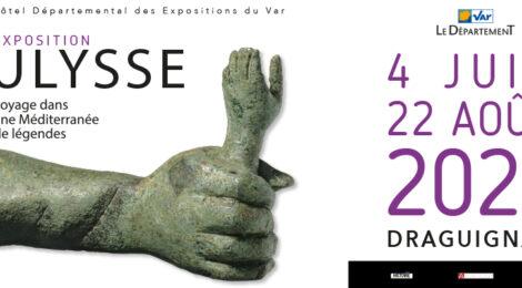 """Exposition inaugurale de l'Hôtel départemental des expositions du Var """"ULYSSE, voyage dans une Méditerranée de légendes""""."""