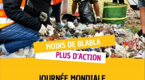 SAMEDI 18 SEPTEMBRE :  JOURNEE MONDIALE DE NETTOYAGE DE LA PLANETE