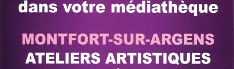 Atelier artistique à la médiathèque