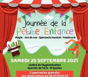 Journée de la Petite Enfance : magie, art de rue, spectacle musical, foodtruck